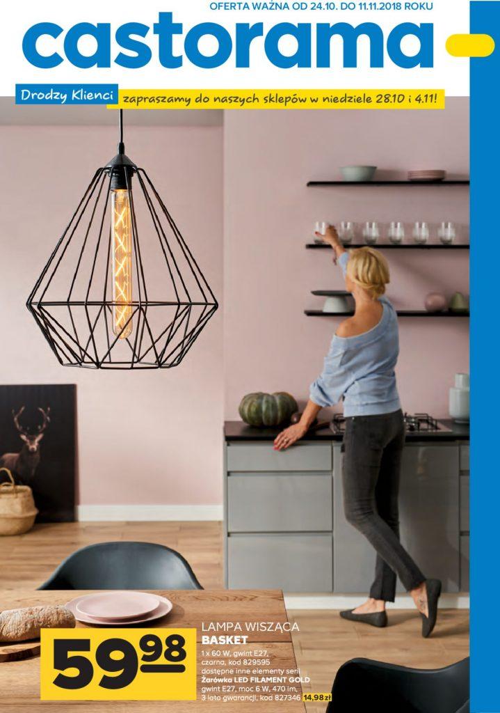 castorama lampy i oświetlenie